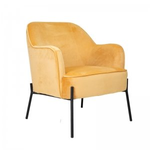 Fauteuil Lincoln - Geel
