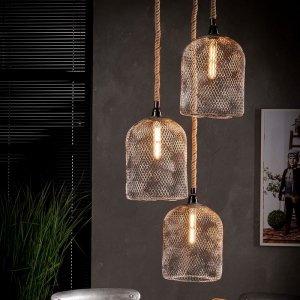 Hanglamp Winona - 3 Stuks - Vast - Grijs