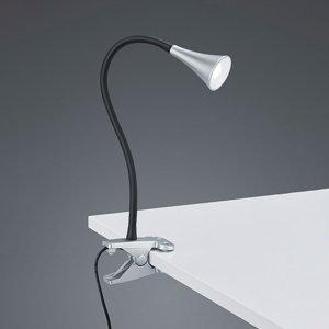 Klemlamp Viper - Kunststof - Titaan - Grijs