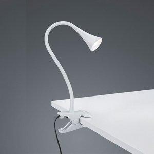 Klemlamp Viper - Kunststof - Wit