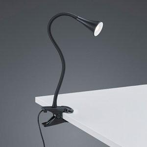 Klemlamp Viper - Kunststof - Zwart