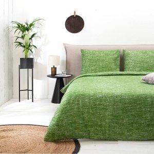Soft Melange - Groen - 240 x 220