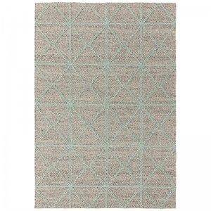 Vloerkleed Prism Rug - Mint - Grijs - 120 x 170
