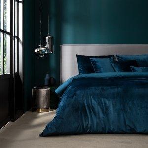 Dekbedovertrek Velvet - Blauw - 200 x 240