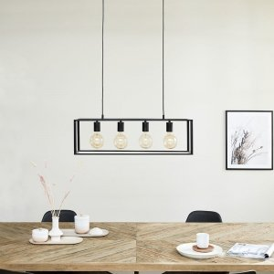 Hanglamp Bergen - Zwart