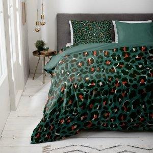 Leopard - Green - Groen - 240 x 200