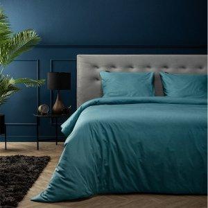 Percale Uni - Aqua - Blauw - 200 x 200