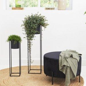 Set van 2 - Plantenbak Violet - Zwart