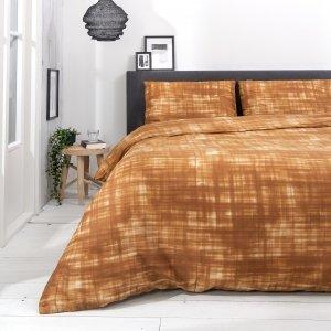 Faint Paint - Cognac - Bruin - 140 x 200