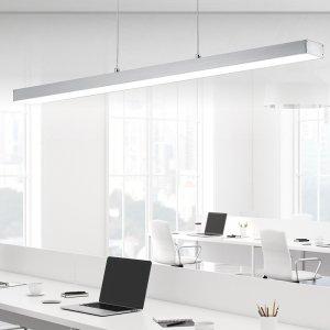 Hanglamp Agano - Aluminium - Nikkel Mat - Grijs