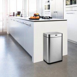 Prullenbak Umuzi - Met Sensor - Zilver