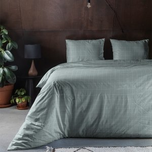 Squared - Groen - 140 x 200